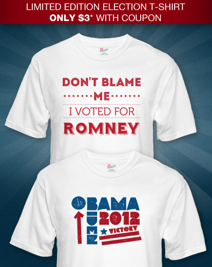 Get your $3* Election Tees
